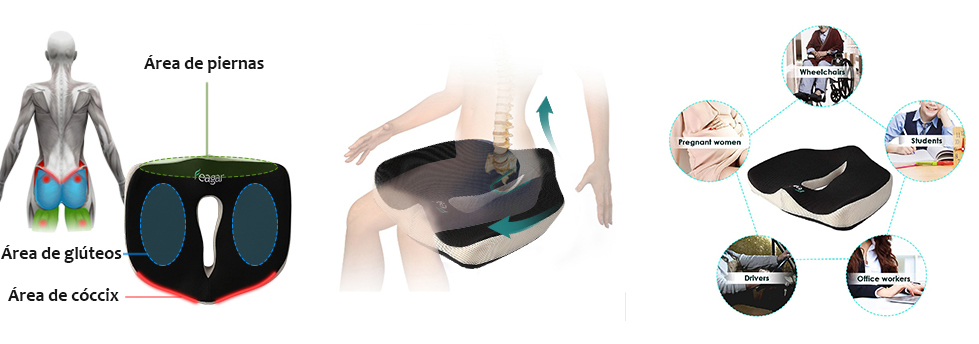 cojin ortopedico antiescaras feagar